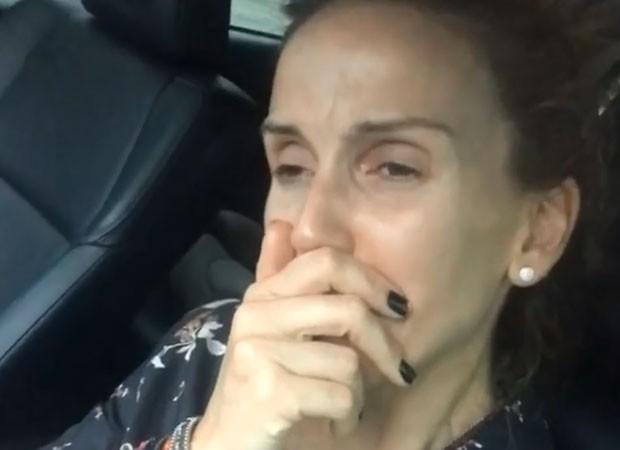 Mariana Ferrão chorou ao falar de Ricardo Boechat (Foto: Reprodução/Instagram)