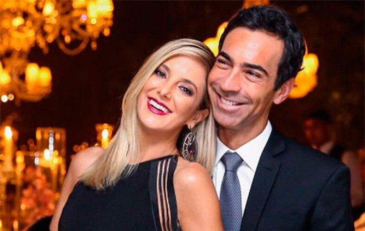 A apresentadora do Hoje Em Dia, Ticiane Pinheiro é casada com o jornalista da TV Globo César Tralli (Foto: Divulgação)