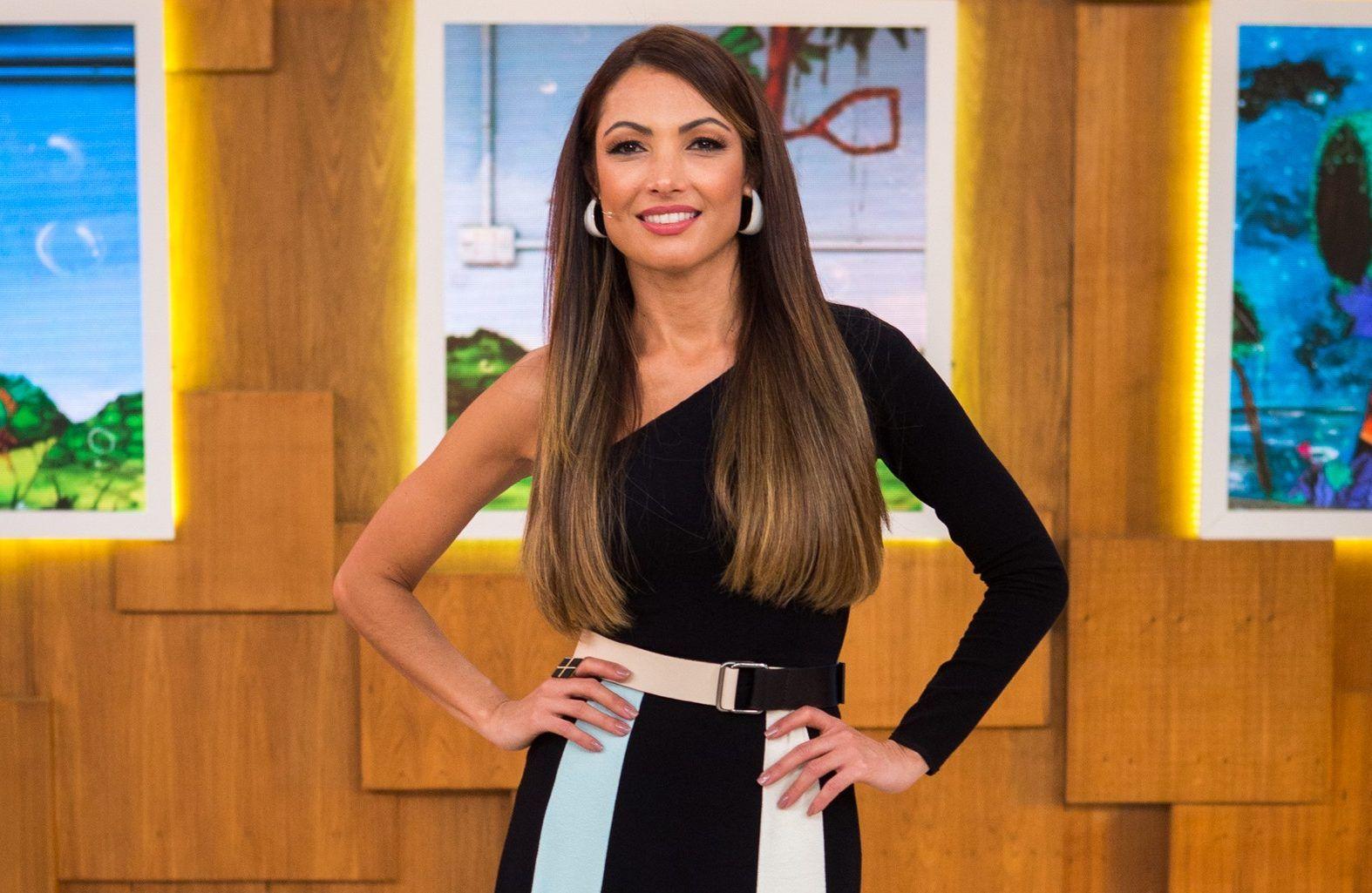 A apresentadora da Globo, Patricia Poeta (Foto: Divulgação) É de Casa