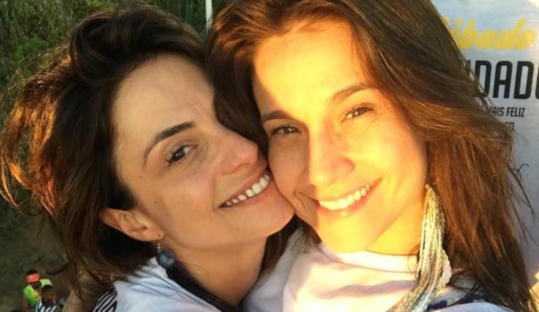 Fernanda Gentil e Priscila Montandon juntinhas