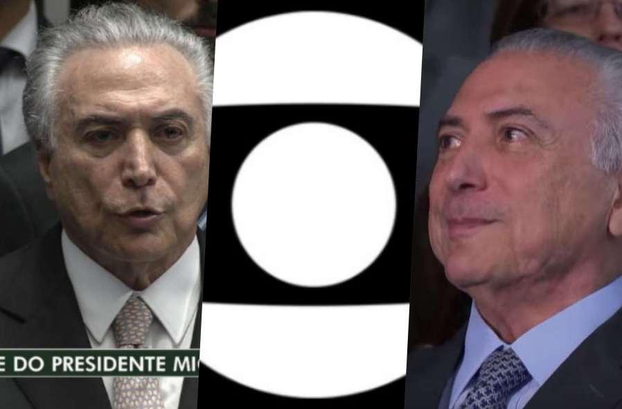 Globo faz piada e mostra prisão de Michel Temer com funk