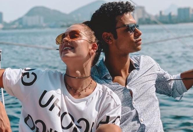 Sérgio Malheiros e Sophia Abrahão (Foto: Reprodução/Instagram)