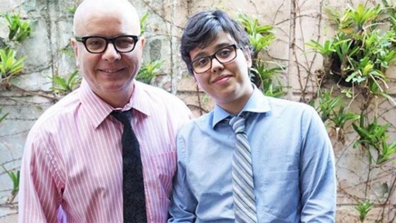 """Filho trans de Marcelo Tas foi inspiração para Gloria Perez: """"Ele é o cara"""