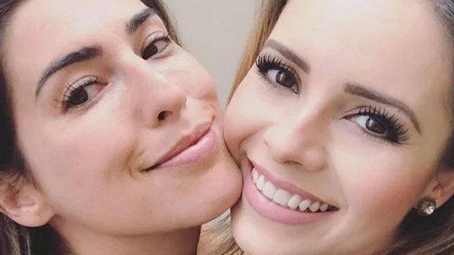 Fernanda Paes Leme e Sandy (Foto: Divulgação)
