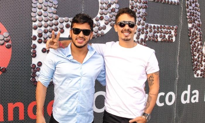 Lucas Guimarães e Carlinhos Maia (Foto: Thiago Duran e Eduardo Martins/AgNews)
