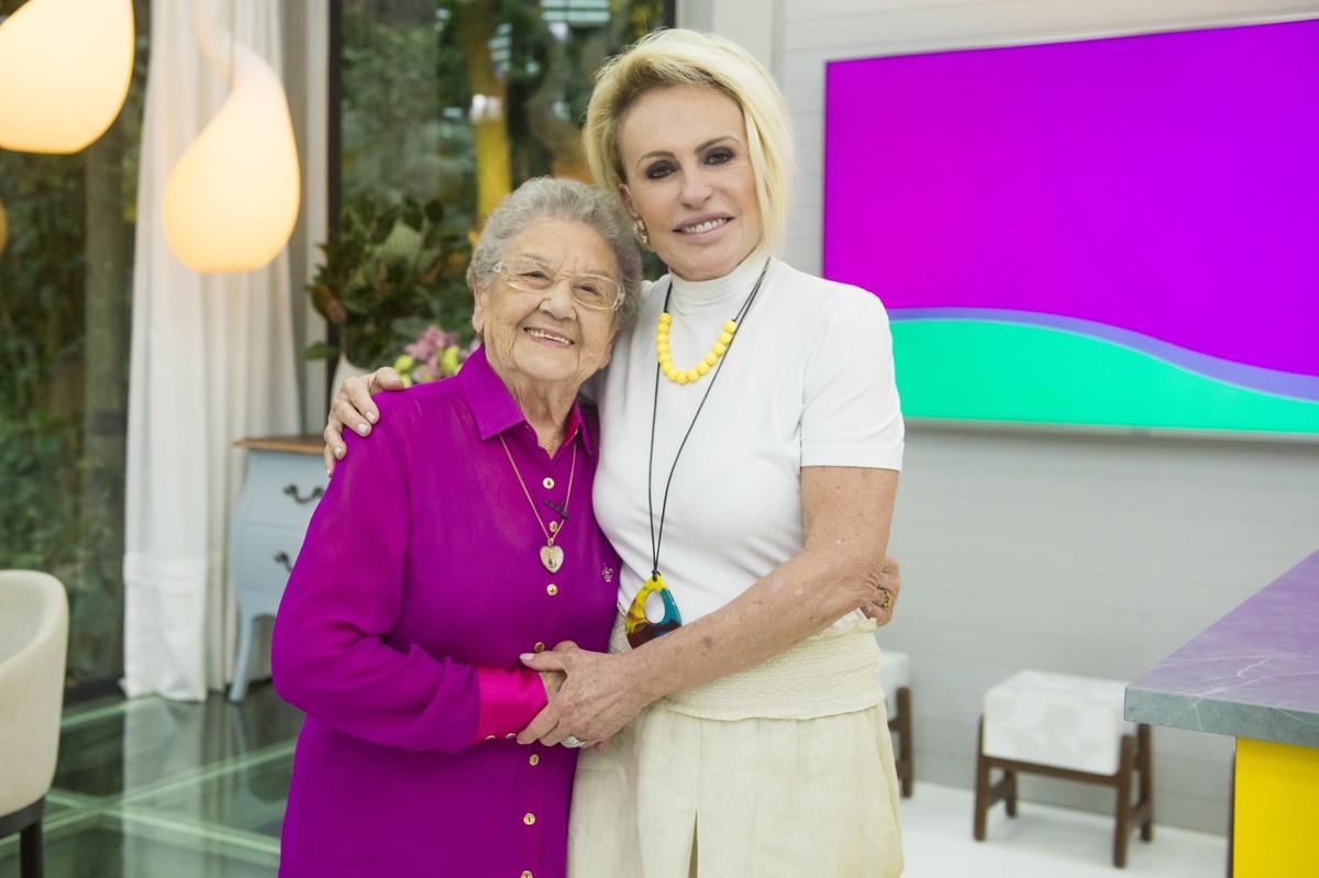 Ana Maria Braga e Palmirinha se reencontram após 20 anos (Foto: Divulgação)