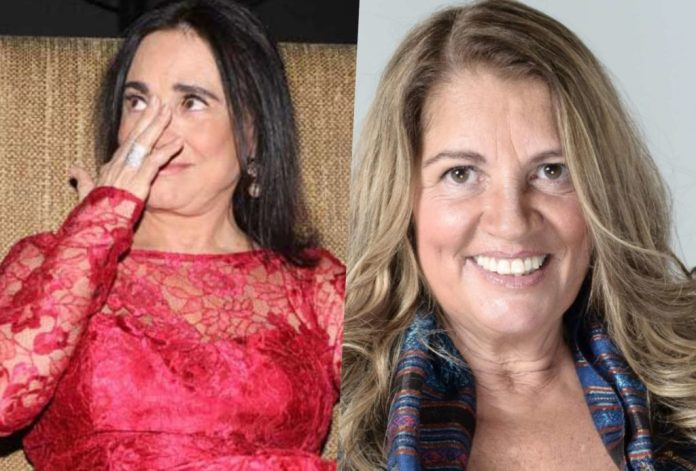 """Regina Duarte foi atacada por Tássia Camargo e teve """"podres"""" revelados (Foto reprodução)"""