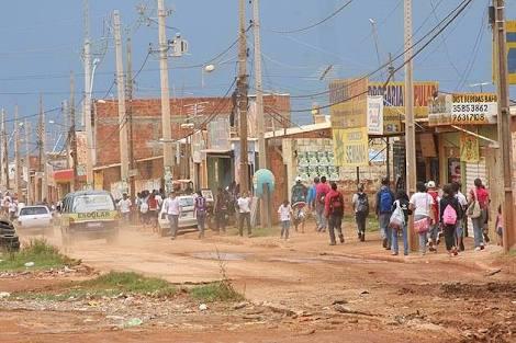 Favela do Sol Nascente é a segunda maior do Brasil (Foto: Reprodução)