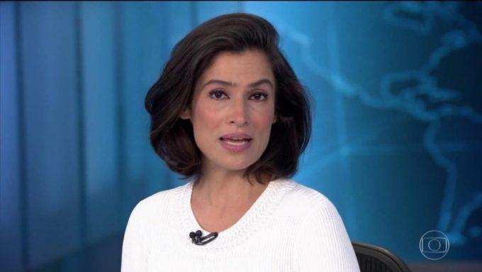 A jornalista Renata Vasconcellos (Foto: Reprodução/Globo)