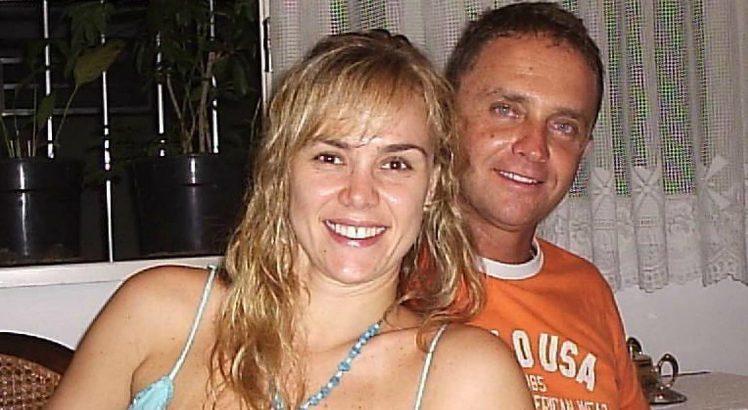 Vídeo mostra ex-paquita se machucando e ex-marido se pronuncia (Foto: Reprodução)