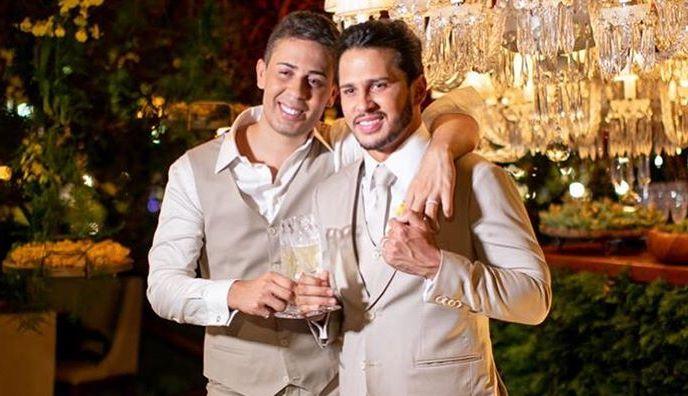 Carlinhos Maia e Lucas Guimarães (Foto: Reprodução/Instagram) Luísa Sonza Wesley Safadão