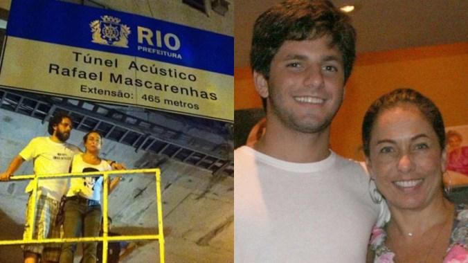 Cissa Guimarães e Rafael Mascarenhas (Foto: André Muzell/ AgNews - Reprodução)