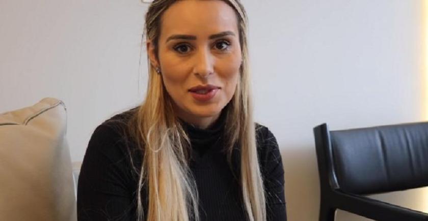 A Ex-BBB Leticia Santiago que participou da 14 edição do reality da Globo (Foto: Reprodução/Globo)