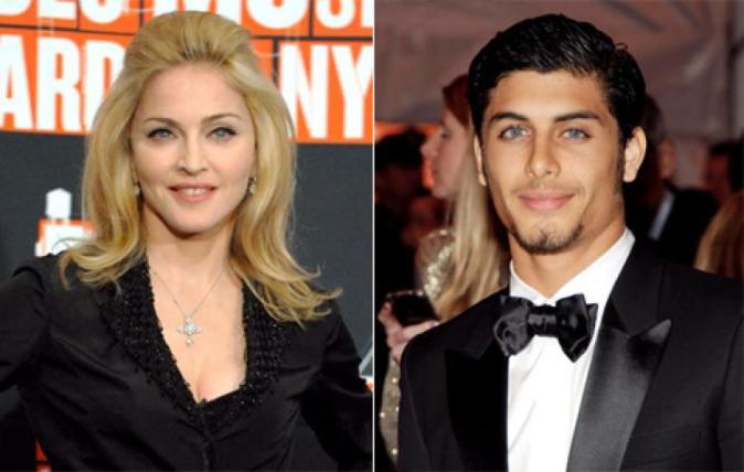 Madonna e Jesus Luz (Foto: Reprodução)