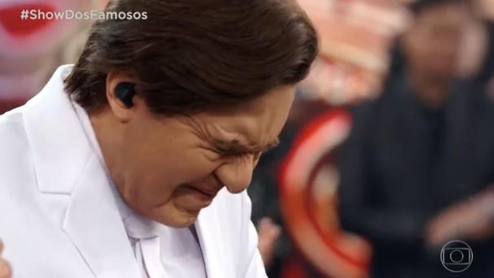 """Boninho ataca Show dos Famosos, Faustão se irrita e dispara: """"onde é que você achou defeito?"""" Foto: Reprodução Globo, Domingão do Faustão"""