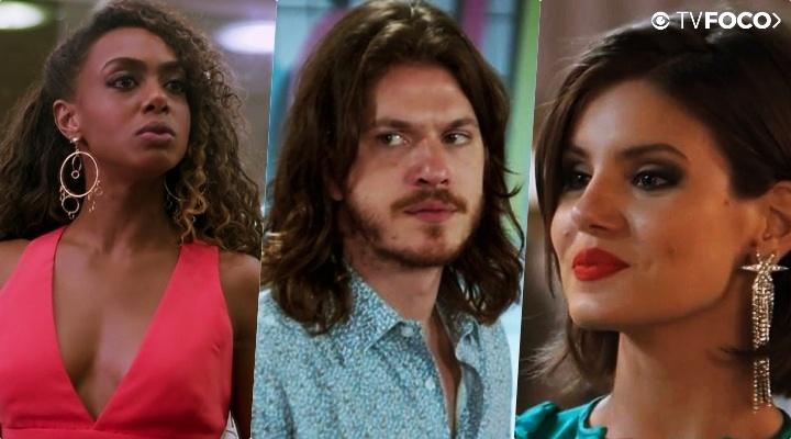 Dandara (Dandara Mariana) flagrará ex com outra na trama da Globo Verão 90