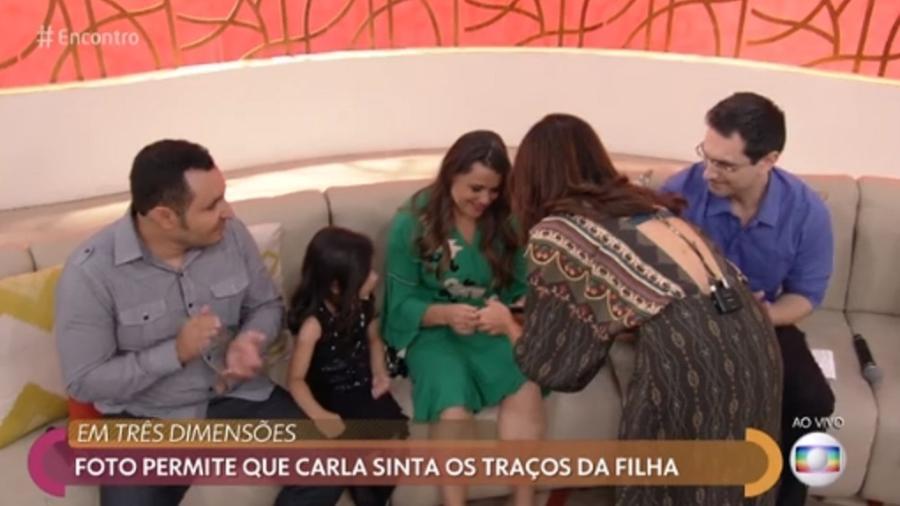 Fátima Bernardes no Encontro (Foto: Divulgação)