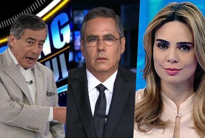 Paulo Henrique Amorim e Raquel Sheherazade são punidos por criticaram Bolsonaro e âncora da Band sai em defesa
