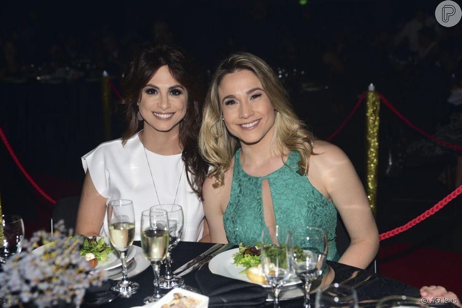 Fernanda Gentili e sua companheira Priscila Montandon (Foto: Reprodução)
