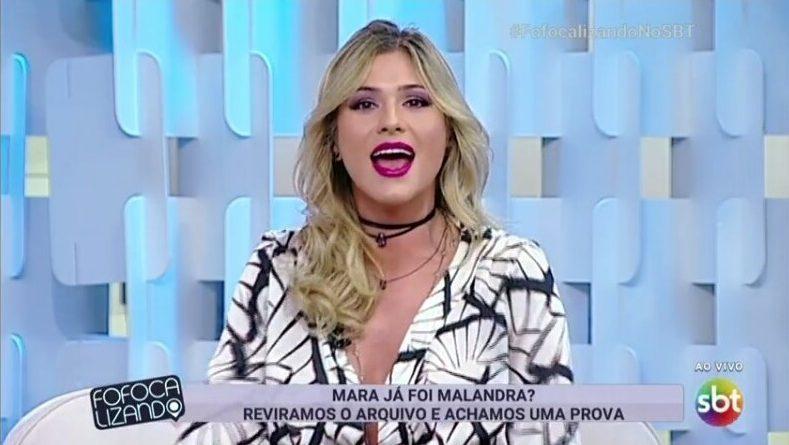 Lívia Andrade, apresentadora do Fofocalizando, deixou o emprego (Foto: Reprodução/SBT)