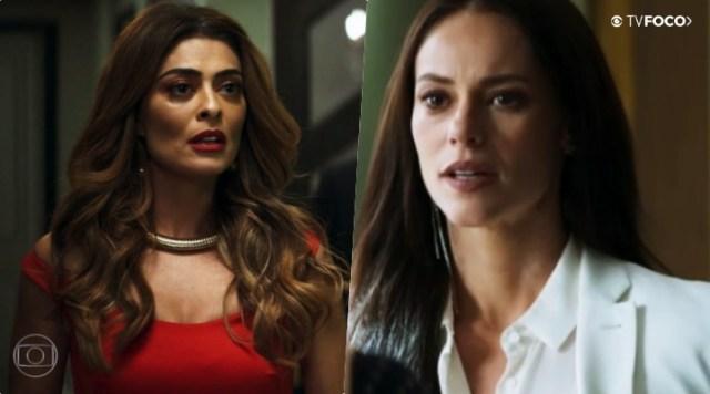 Vivi Guedes (Paolla Oliveira) encontrará com Maria da Paz (Juliana Paes) na novela A Dona do Pedaço da Globo