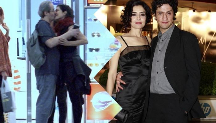 Letícia Sabatella, da Globo assume namoro com Daniel Dantas e Fernando Alves Pinto se manifesta Foto: Montagem