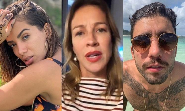 Anitta, Luana Piovani e Pedro Scooby (Foto: Divulgação)