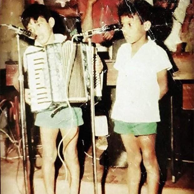 Zezé Di Camargo e Emival, história contada em Dois Filhos de Francisco. (Foto: Reprodução/Instagram)