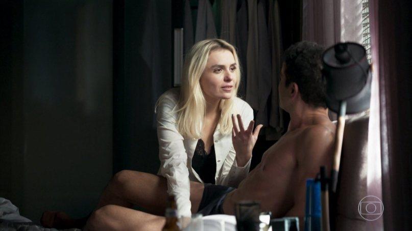 Kim conseguirá ficar com Marcio em A Dona do Pedaço (Foto: Reprodução/Globo)