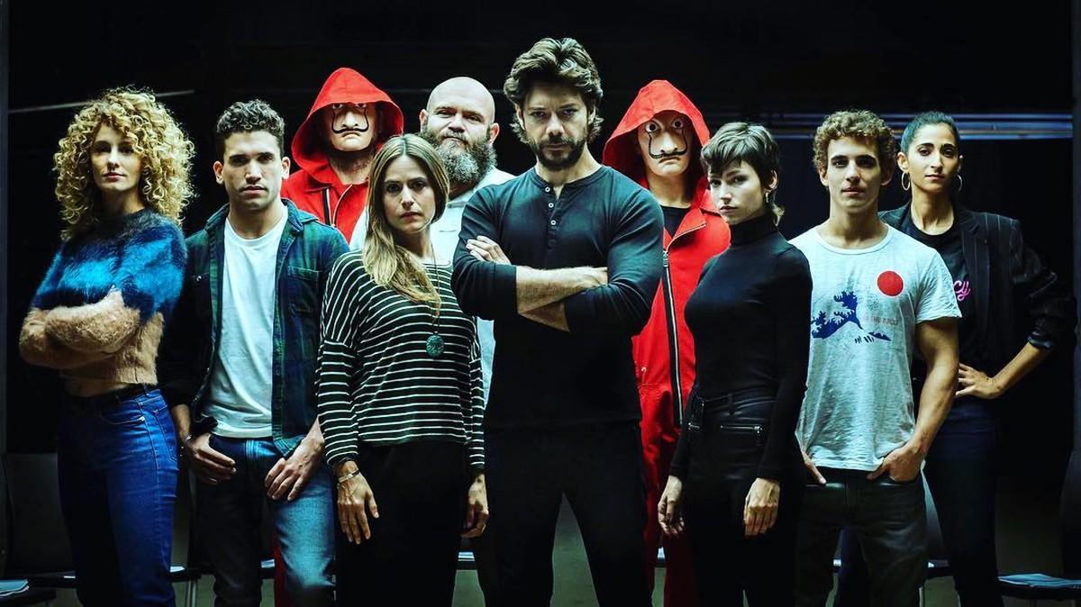 La Casa de Papel volta a Netflix (Foto: Reprodução)
