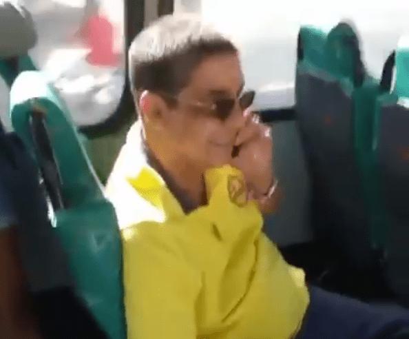 Zeca Pagodinho (Foto: Reprodução/ Instagram) ônibus
