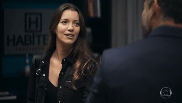 Fabiana (Nathalia Dill) fará vingança terrível contra Agno (Malvino Salvador) em A Dona do Pedaço (Foto: Reprodução/Globo)