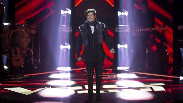 Paulo Ricardo se apresenta como candidato no The Voice Brasil (Imagem: Isabella Pinheiro/Gshow)