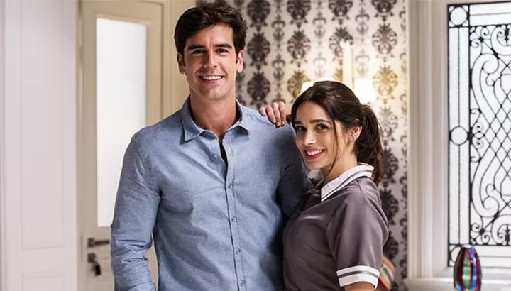 Sabrina Petraglia e Marcos Pitombo integram o elenco de Salve-se Quem Puder, novela da Globo. (Foto: Divulgação)