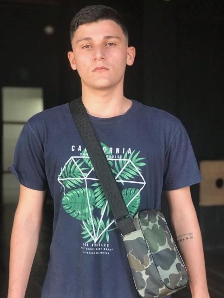 Vinicius Moreno atualmente com 20 anos. Foto: Reprodução