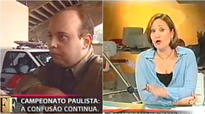 Sônia Abrão covered the confusion involving Globo and SBT. (Photo: Editing / Reproduction / YouTube / Marckenzini Archive)