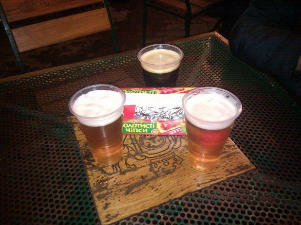 Пиво Подол и чипсы как в детстве