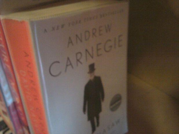 Andrew Carnegie book
