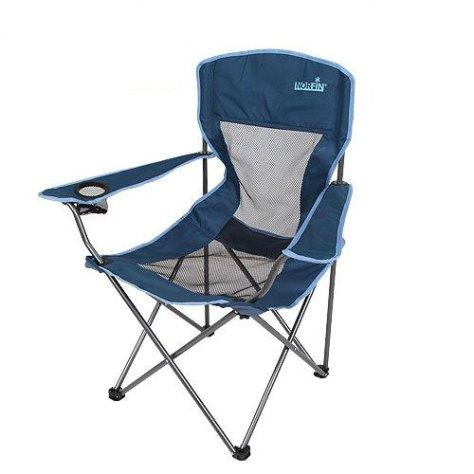 "Кресло складное Norfin ""Raisio NFL"", цвет: синий, 54 см х 42 см х 95 см"