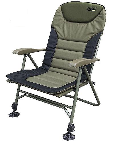 """Кресло карповое Norfin """"Humber NF"""", цвет: хаки, 70 см х 63 см х 105 см"""