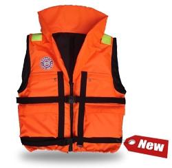 Жилет спасательный Плавсервис Reggata, цвет: оранжевый. Размер 58-64, вес до 120 кг