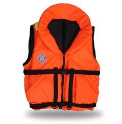 Жилет спасательный Плавсервис Hunter, цвет: оранжевый. Размер 58-64, вес до 120 кг