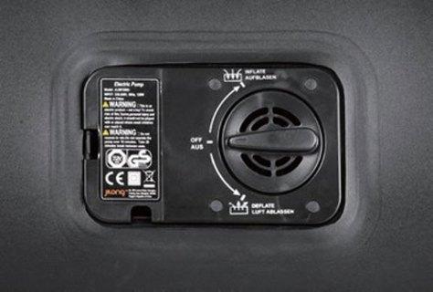 """Кровать надувная RELAX """"LUXE DOUBLE"""" с электрическим насосом, 196 х 145 х 47 см"""