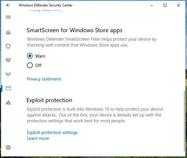 Windows Defender Exploit Guard - Windows 10 for Enterprise ...