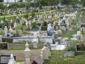 mayat di dalam kubur