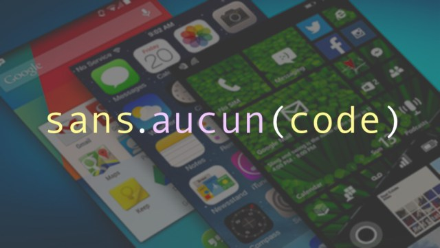 How to create a mobile application without having to code what whether it's