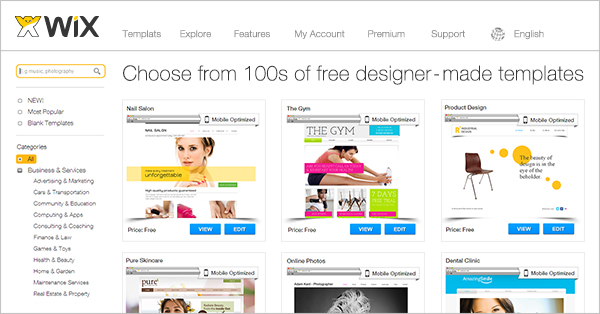 So, whether you're in the market for a new business website, portfolio, blog or more—you've definitely come to the right place. Most Popular Website Templates By Wix Page
