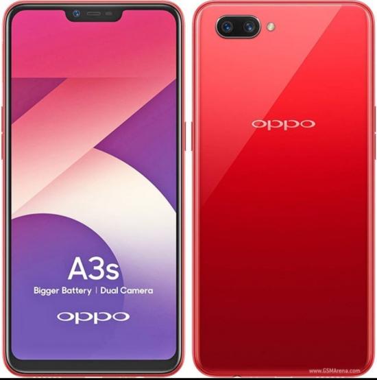 Hasil gambar untuk Oppo A3S Smartphone - 2/16GB - Garansi Resmi - Red