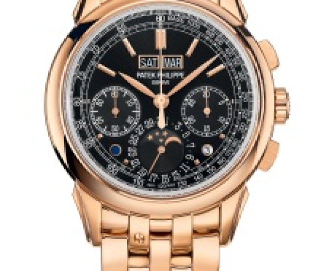 Patek Philippe Grand Complications Ref  Rose Gold Face