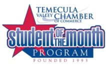 Temecula student of the month